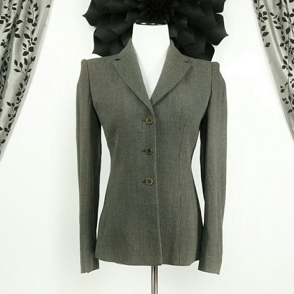795da599445 Armani Collezioni Jackets   Blazers - Armani Collezioni Pinstripe 3 Button  Blazer